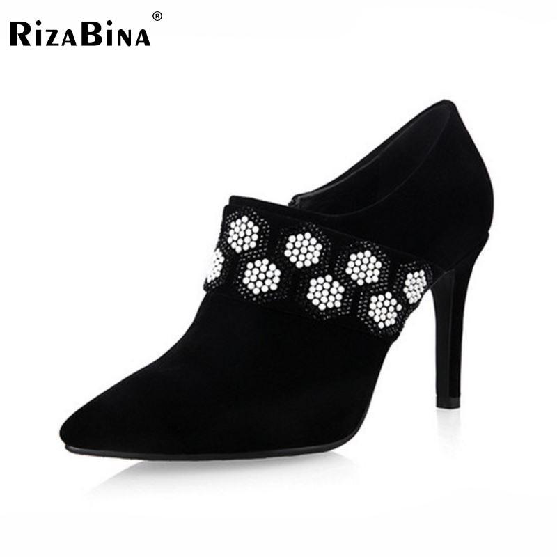 ФОТО women high heel shoes sexy dress lady studded stiletto spring fashion heeled footwear brand pumps heels shoes size 33-43 P16510