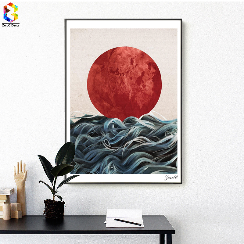 Landschaft Nordischen Stil Wald Motivation Zitieren Leinwand Plakat Druck  Schwarz Weiß Minimalistischen Wandkunst Malerei