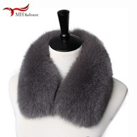 Women winter new real 100% fox leather sweater collar fashion warm and comfortable coat collar scarf men women shawl hot sale