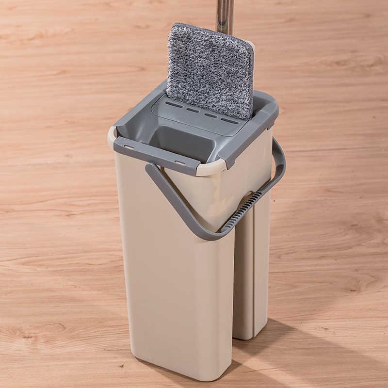 Spray Automático Magia Spin Mop Evitar a Lavagem Das Mãos Limpeza Fibra Ultrafina Pano Casa Cozinha Piso De Madeira Mop Preguiçoso Fellow