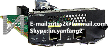 With 2 Port 10ge Sfp Practical Original Hua Wei Es5d21x02s01 Interface Board Used For S5720ei Series