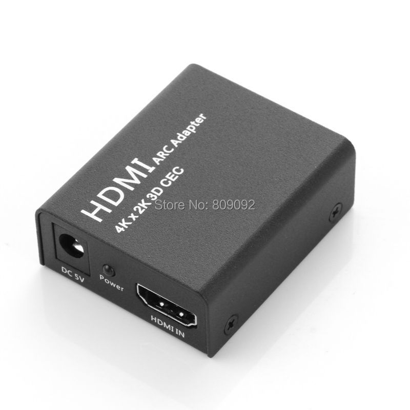 HDMI ARC Adapter With CEC And Optical Toslink Audio Output Support HDMI 4K*2K CEC With  Metal Quality