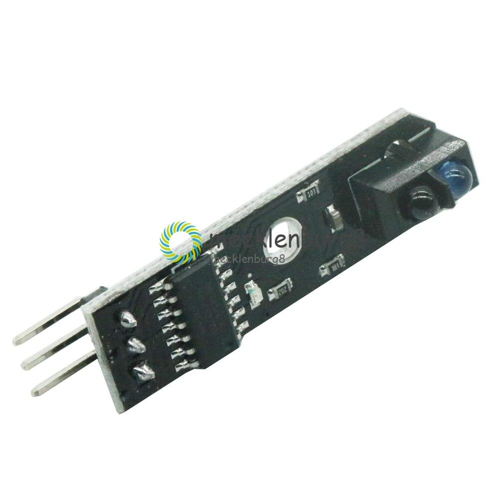 Infrared Line Track Tracker Follower Sensor 5V Shield For Arduino New