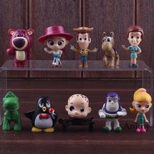 La historia del juguete Buzz lightyear Woody Jessie Rex blanco lotso muñeca  PVC figura de acción de colección modelo juguetes pa. 69d77362b86