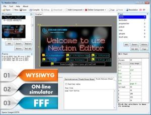 "Image 5 - Aihasd pantalla táctil resistiva Nextion 2,4 ""TFT 320x240 UART HMI Smart raspberry pi, módulo de pantalla LCD para Arduino TFT"
