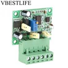 Módulo convertidor de frecuencia a módulo de voltaje de 0-10Khz a 0-10V, convertidor de frecuencia a voltaje con módulo de aislamiento F/V