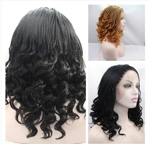 african american high quality black curly synthetic ...