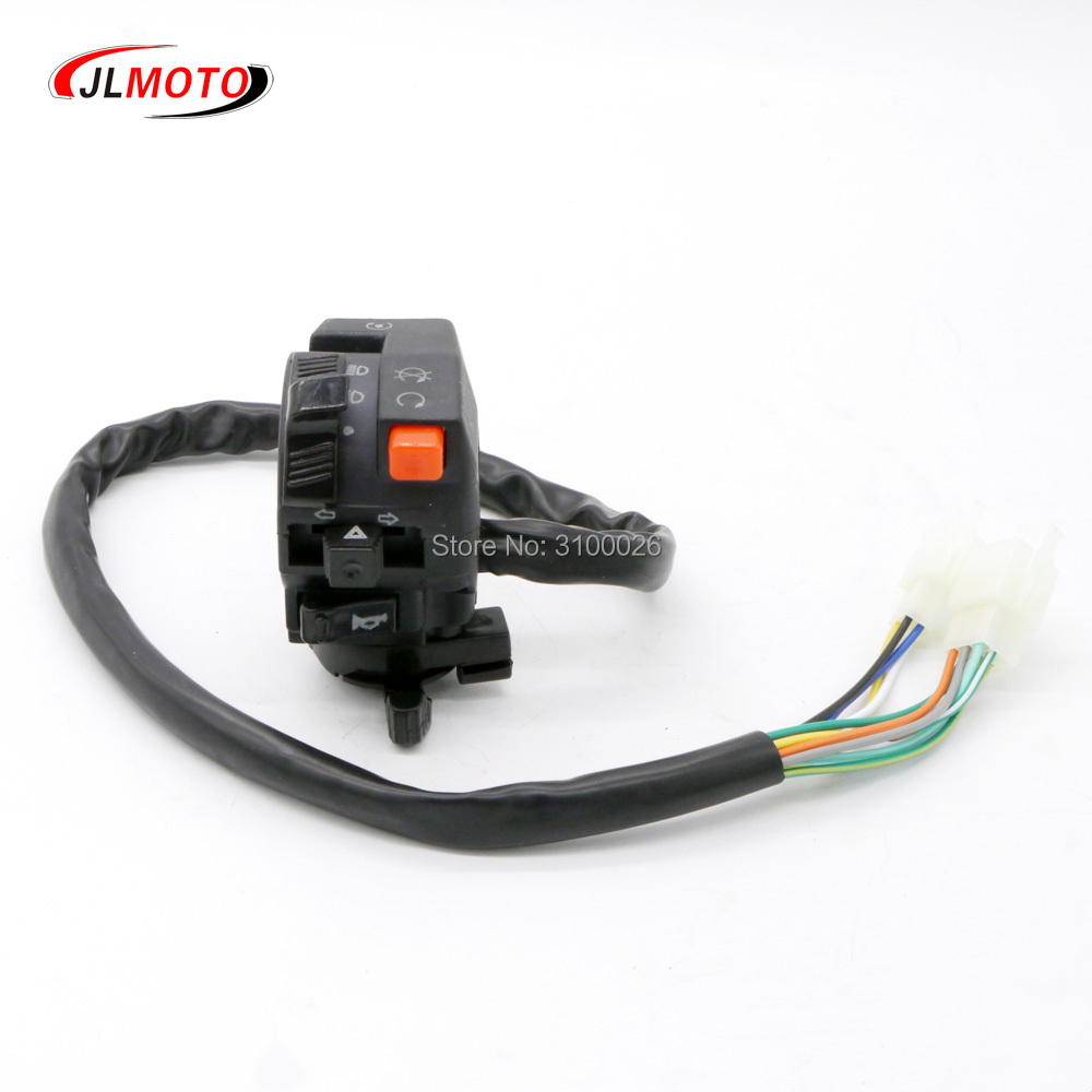 Multifunction Control Handle ignition horn <font><b>light</b></font> <font><b>Switch</b></font> With choke Lever Fit For China 110cc 150cc 250cc <font><b>ATV</b></font> Quad Bike Parts image