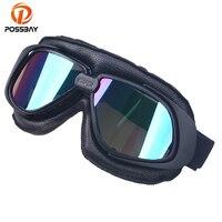 POSSBAY Motorrad Goggles Off Road Dirt Bike Ski Brille Wasserdichte Outdoor Sport Roller Zubehör Universal Moto Teil