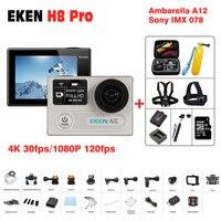 2017 Hot Original EKEN H8 Plus Action Camera 4K 30fps WiFi 2 0 170D Pro Helmet