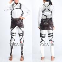 Classic Attack On Titan Cosplay Shingeki No Kyojin Cosplay Recon Corps Harness Belts Hookshot Cosplay Costume