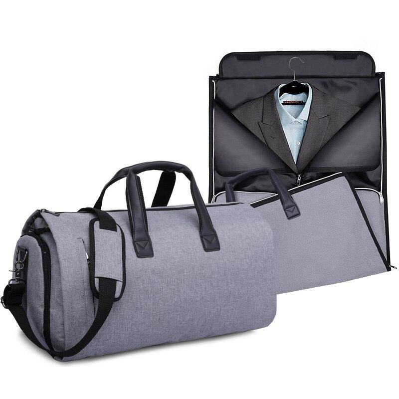 Sac de voyage de grande capacité de marque 2019 IX sac de bagages de chariot de stockage imperméable unisexe 3 en 1 organisateur de chaussures de vêtement sac de bagage