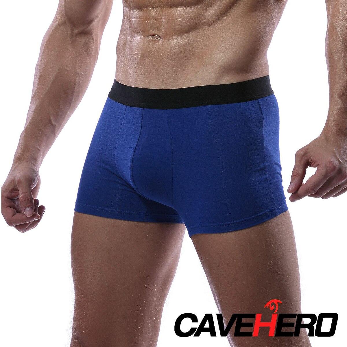 Modal Men's Underwear Breathable Men's Boxer Trousers Men's Mid-Waist Braid Underwear