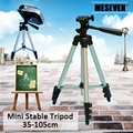 MESEVEN 135 meters 4 Sections Floor Foldable Tripod Portable Tripod Mount with Bag Max Load 3kg Universal Phone projector Camera