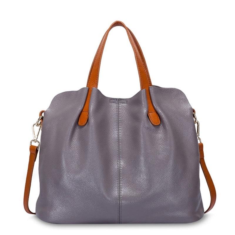 Women\'S Genuine Leather Bags Female Bag Handbags Crossbody Bags For Women Shoulder Bags Genuine Leather Bolsa NS-39-1