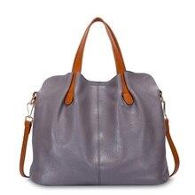 100% bolsos de cuero genuino para mujer bolso de mano bolsos de bandolera para mujer bolsos de hombro de cuero genuino bolsa NS-39-1