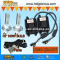 12v 100w H7 brightest 6000k  HID KIT , h7 hid 100w
