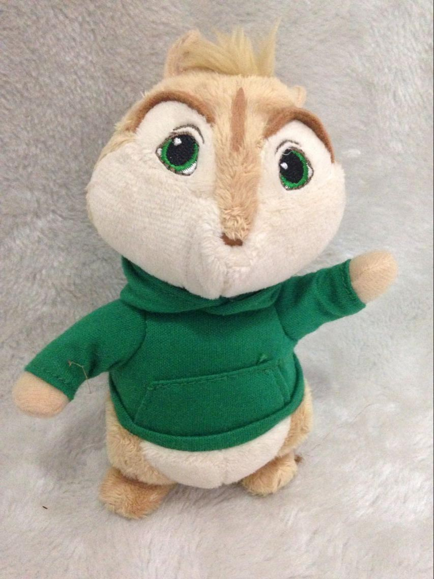 product Alvin and the Chipmunks Theodore Plush Doll Toy 13cm