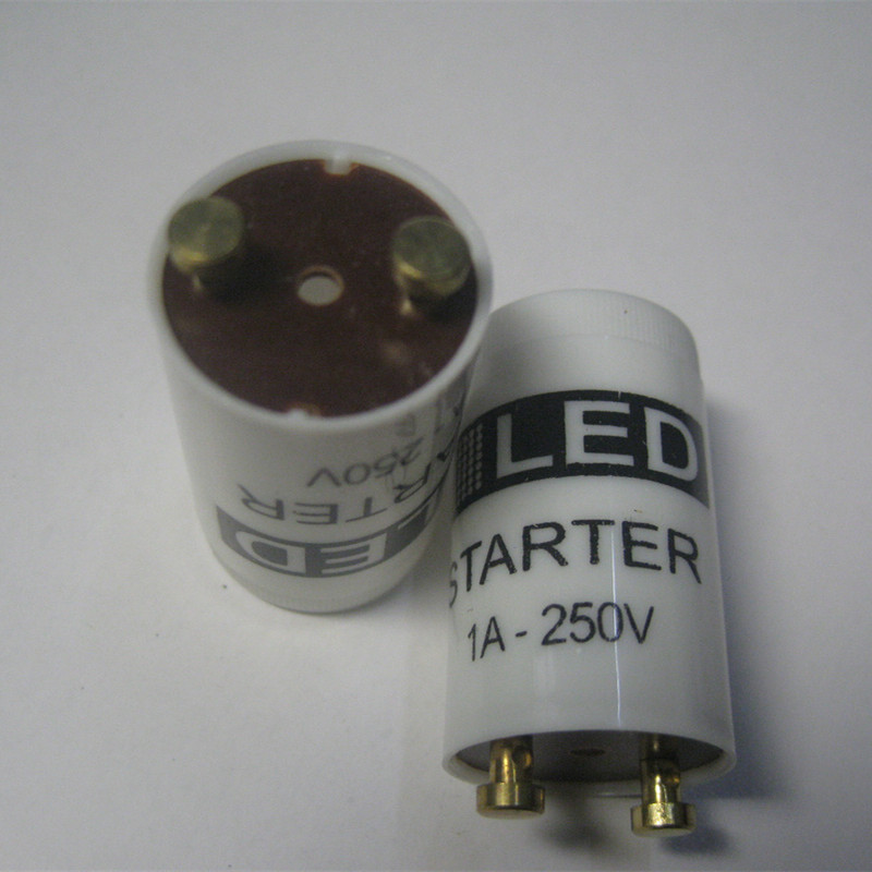 5pcs/lot LED Starter Only Use LED Tube Protection 250V/1A Change Fluorescent Tube To Led Tube  Inductance Ballast Remove Starter