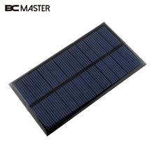 BCMaster Mini 6V 1W Solar Power Supply Panel DIY Solar Panel for Cell Phone Chargers Solar Cells Toy Charging