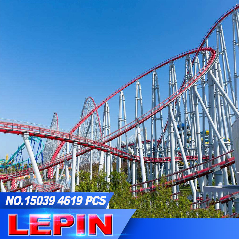 все цены на Lepin15039 the 10261 scooter fun model coaster set building blocks Bricks Toy Model 10247 онлайн