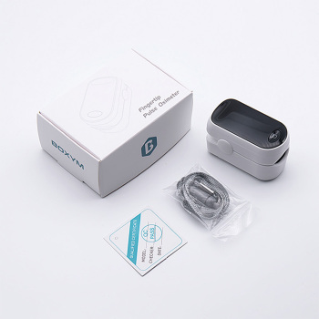 BOXYM Medical Portable Pulse Oximeter OLED Pulsioximetro Spo2 blood oxygen Heart Rate Monitor Oximetro De Dedo Household Health 6