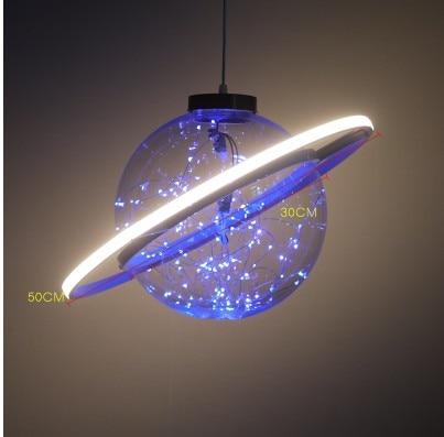 Nieuwe Collectie Shine LED Flash Ster Bal Bruiloft Showcase Decoratie Ruimte Planeet Opknoping Ornament Kroonluchter Gratis Verzending - 3