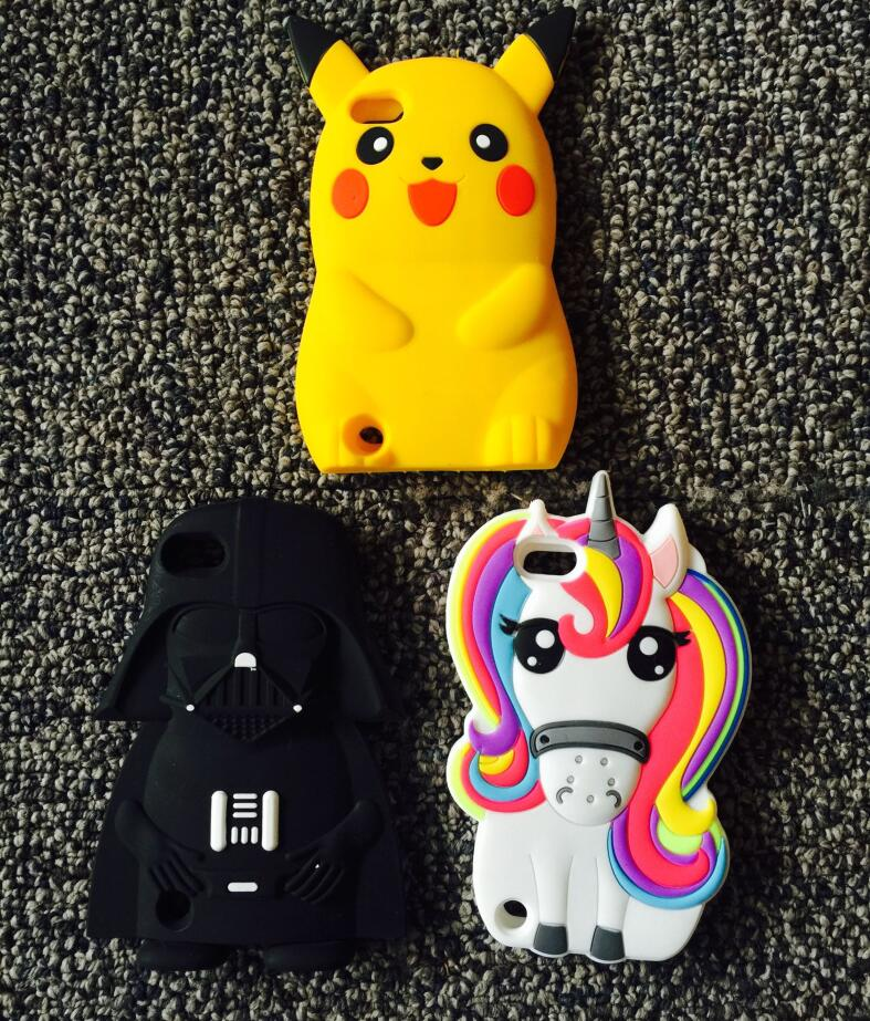 huge selection of c9bf5 022ef US $3.02 |AIPUWEI 3D Cartoon Unicorn Soft Silicone case For Apple iPod  touch 5 6 touch 5 touch 6 CASE COVER Cute licorne Horse bear coque-in  Fitted ...