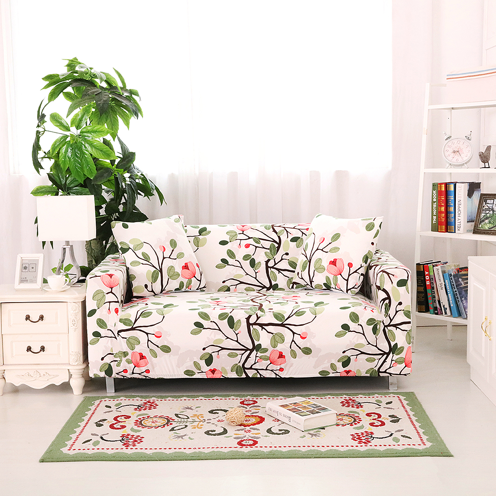 New Slipcover Stretch Sofa Cover Sofa With Loveseat Chair: Homing Elastic Stretch Couch Cover Furniture Protector