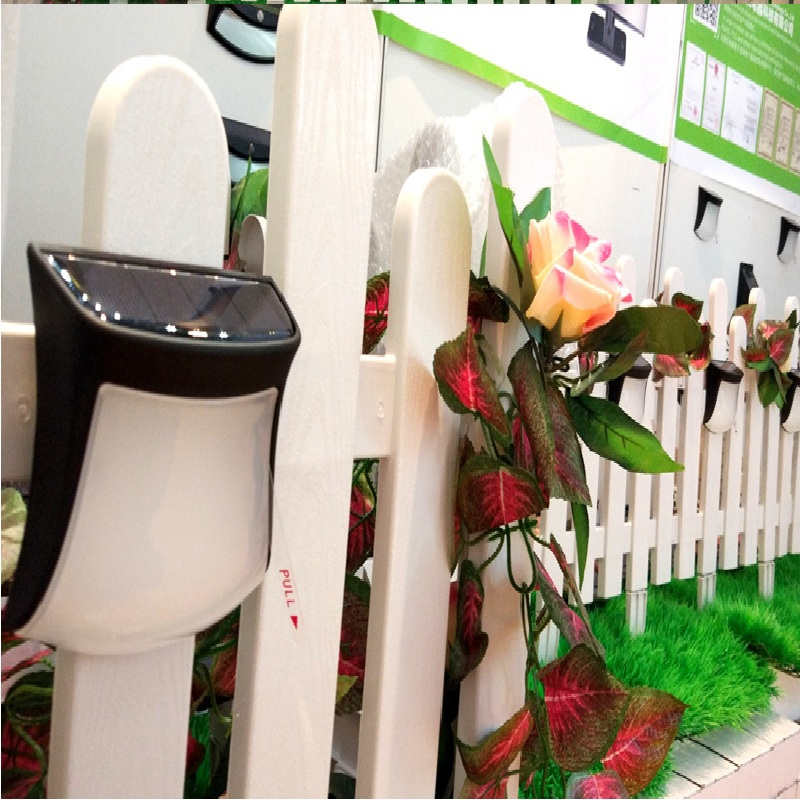 1PCS 3 LED Super Bright Solar Energy Wall Lamp Waterproof Mount Outdoor Garden Lamp Outdoor Led Light Night Lamp in Outdoor Wall Lamps from Lights Lighting
