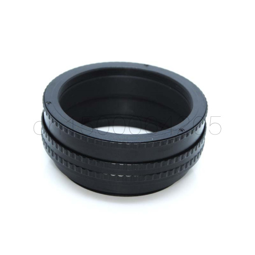 Lens Adapter Hearty M65-m65 17-31 M65 To M65 Mount Focusing Helicoid Ring Adapter 17-31mm Macro Extension Tube Ring Camera & Photo