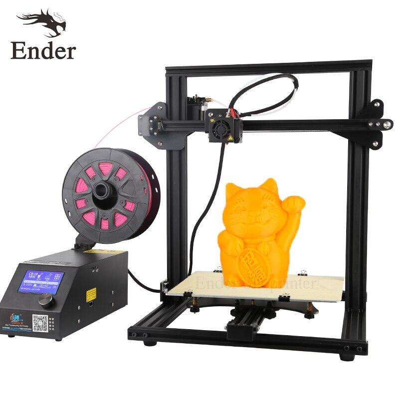 Высокая точность cr-10 мини 3D принтер DIY Kit Prusa i3 большой принт Размеры 300*220*300 мм принтера 3D N нити + очаг creality 3D