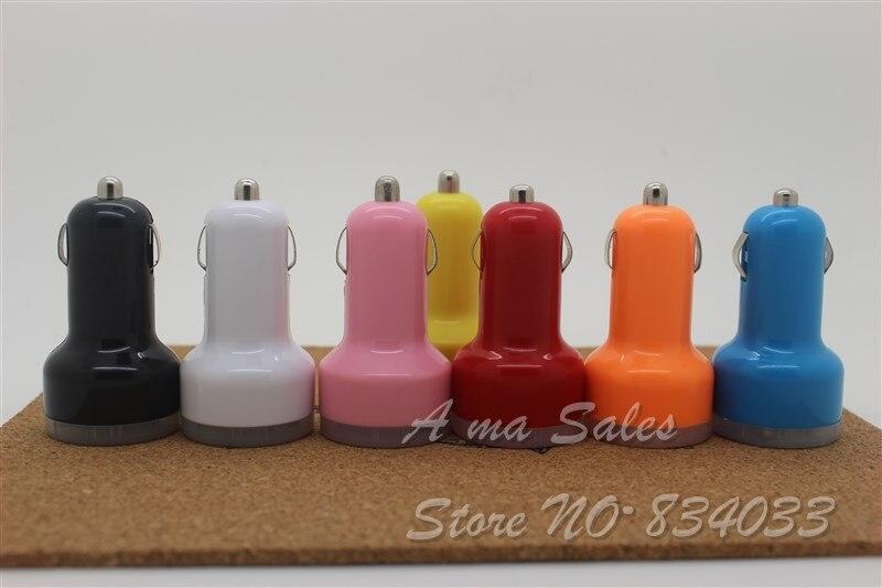 Высочайшее качество 2.1a + 1A Dual USB Автомобильное Зарядное устройство для IPad Mini/4/iPhone5s/5C Ipod и сотовый телефон/ КПК/MP3/MP4 минимальный заказ 100 шт./лот