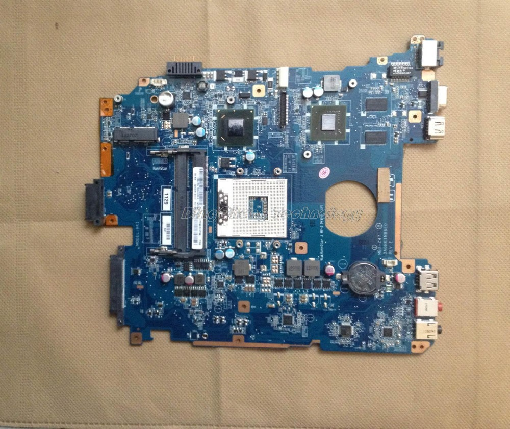 цена на SHELI MBX 247 laptop Motherboard For Sony MBX-247 DA0HK1MB6E0 A1827702A with N12M-GS2-S-A1 Non-integrated graphics card