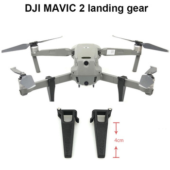 1 pair Height Extender Landing Gear for DJI MAVIC 2 pro/zoom Drone 4cm Height Extender Leg Protector Drone Accessories image