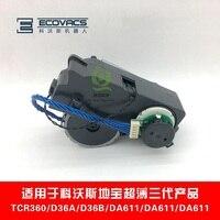 Für Ecovacs Deebot TCR360 D36A-LS D36B-LP DA611-SH DA611-CW DA611-SE Schlank drei generationen antriebsrad staubsauger teile