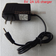 Universal 5V 2A 2.5mm DC jack US Charger For Tablet PC For Allwinner A13,A23,A33,A31S,A83T,Action 7029 tablet