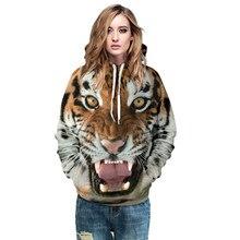 SAMGU 3D Printed Women Sweatshirt Animal/Shari pie/Tiger/Big Teeth Printed Hoodies Long Sleeve Pullover Sweatshirt For Couples