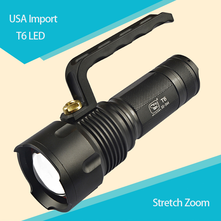 Torch Long Handled Powerful LED Flashlight