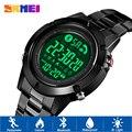 SKMEI 1500 Смарт Bluetooth Мужские Цифровые спортивные часы Шагомер Калорий спортивные часы наручные часы для активного отдыха reloj inteligente