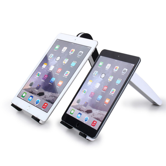 Aluminum Metal Portable Foldable Holder Bracket Stand Mount For iPad Tablet for Macbook Laptop