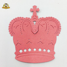 Crown Shape Metal Dies Cutting Hat for Scrapbooking Card Making Paper Crafts 2018