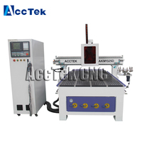 European quality 2d 3d cnc engraving machine carousel atc cnc router machine AKM1325D