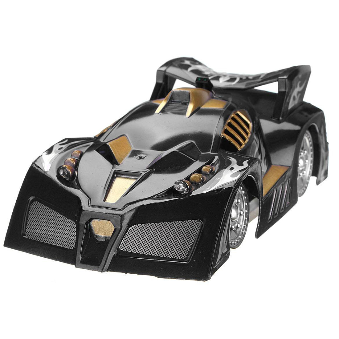 Mini RC Remote Controlled Wall Car Climbing Car Remote Control Toy Gift Climb Car Race Model Infrared black