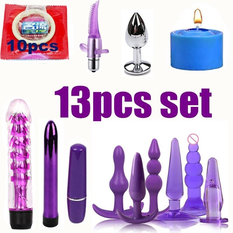 Sex Toys For Couples Bondage Vibrators Set Nylon Restraint BDSM Slave Vibrator Plug Flirt Games Erotic Toys For Women