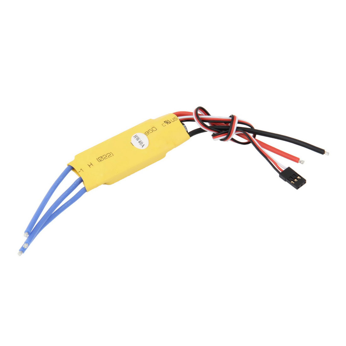 HOBBYINRC New Lan Yu 40A ESC for Brushless Motor Speed Controller Pro RC Helicopter