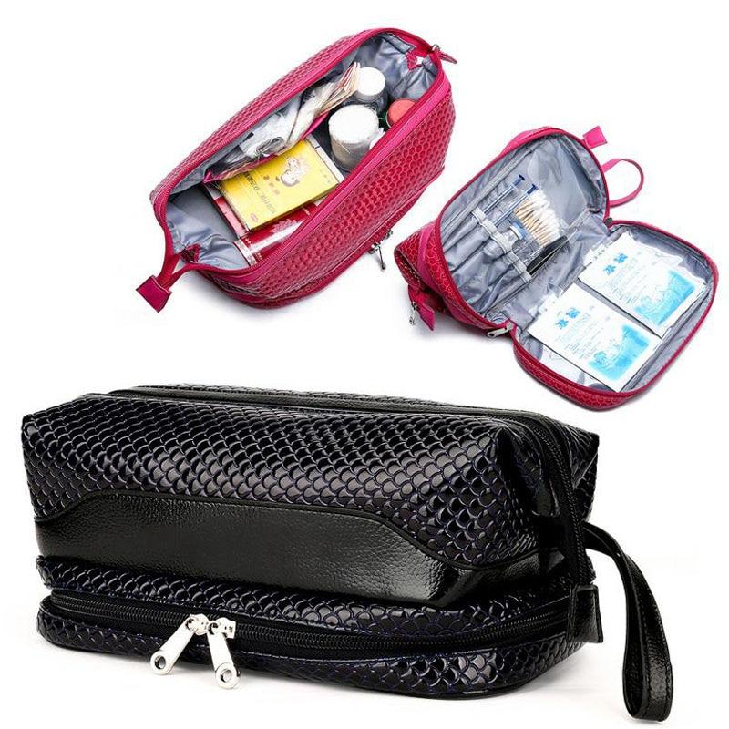 Outdoor First Aid Kit Large Capacity Sports Nylon Waterproof Cross Messenger Bag Family Travel Emergency Medical Bag DJJB025