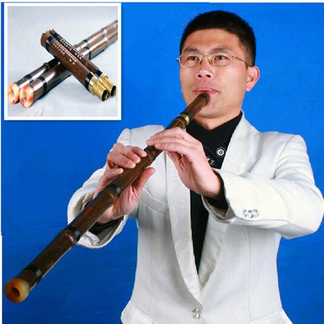 8 Loch Xiao Flote Zwei Abschnitt Bass Flote Instrumento Musical
