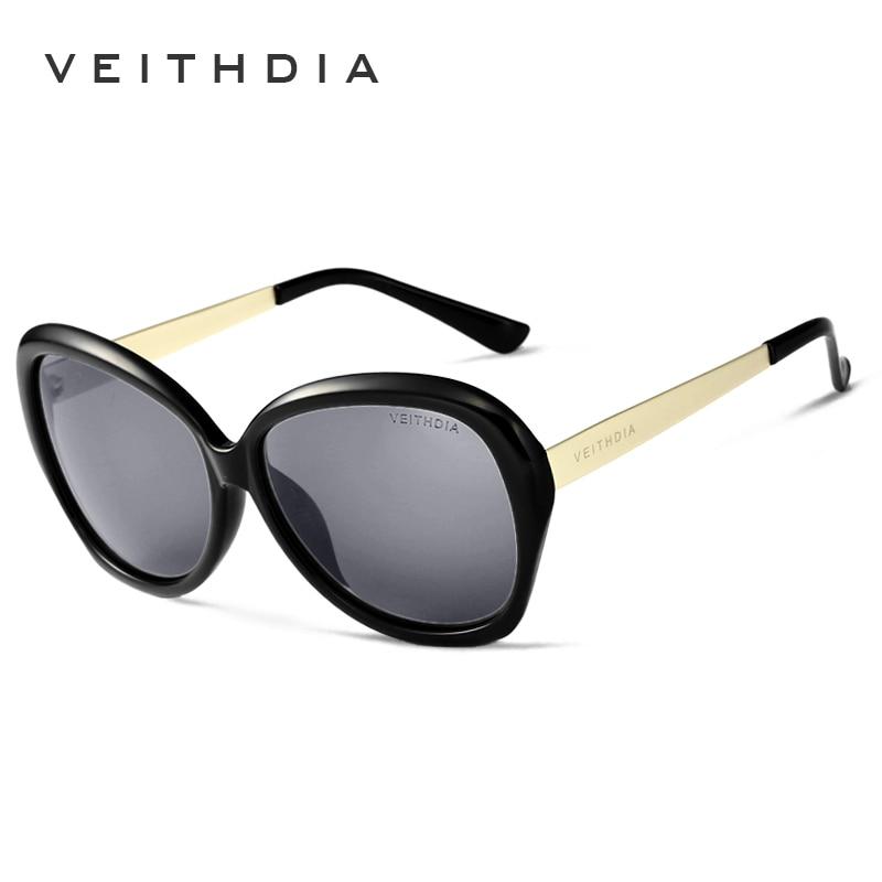 VEITHDIA TR90 Alloy Women 39 s Sun glasses Polarized Mirror Lens Luxury Ladies Designer Sunglasses Eyewear For Women oculos 8012 in Men 39 s Sunglasses from Apparel Accessories