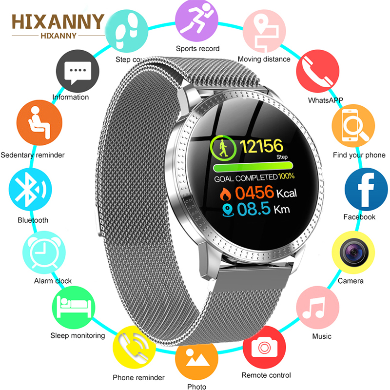 Smart Watch CF18 Men Women Blood Pressure Heart Rate Monitor Sport Activity Fitness Tracker Smartwatch connect Android Iphone|Smart Watches| |  - title=